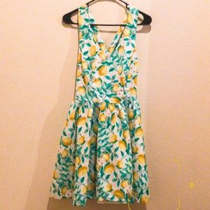 ONE DAY SALE - Elle Lemon Dress